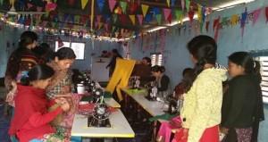 Nepal sewing